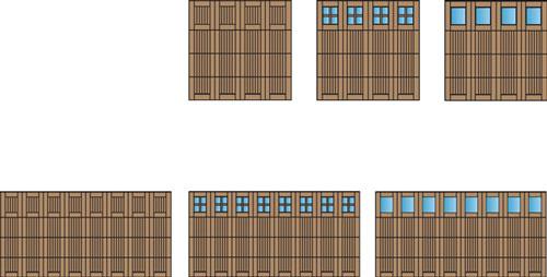 Bi-level Doors And Windows