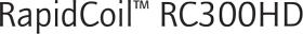RapidCoil RC300HD Logo