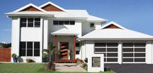 Narrow Profile Aluminum Garage Doors