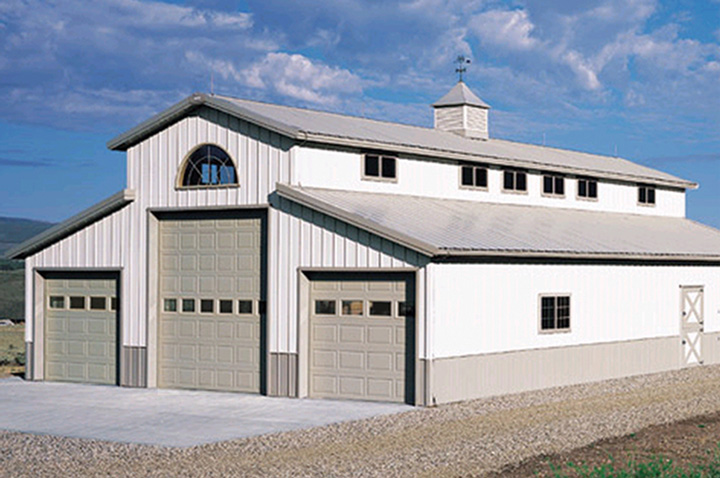 Aspen Ap138c Commercial Sectional Raised And Recessed Panel Garage