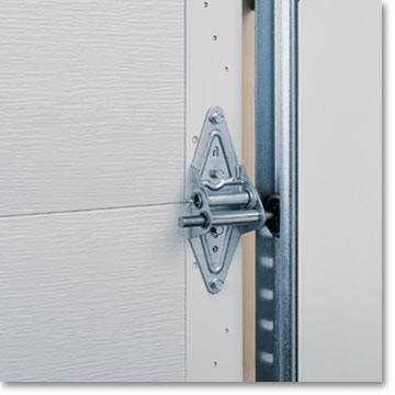 & Hot-Dipped Galvanized Steel Track and Hinges